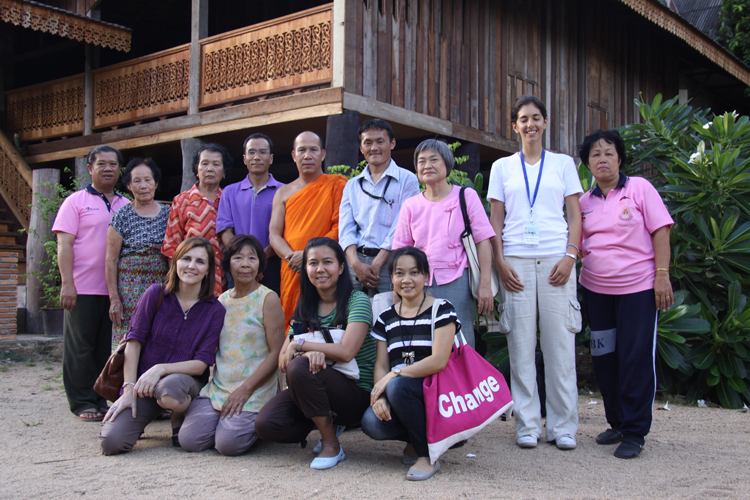 Resource Persons, Visit to Doi Suthep