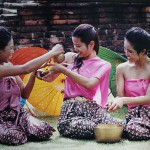 สาดน้ำสงกรานต์ (Thai New Year Festival)