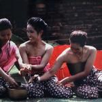 การเล่นน้ำในเทศกาลสงกรานต์ (Songkran Festival)
